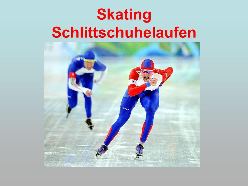 Skating Schlittschuhelaufen