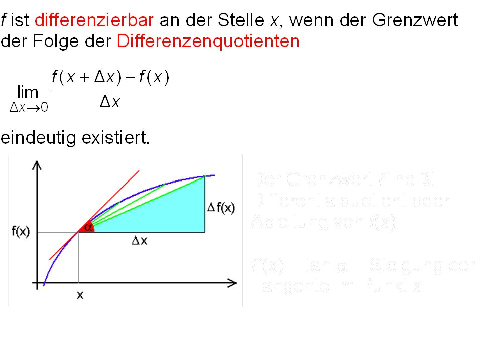 23 Differentialrechnung (S. 205ff)