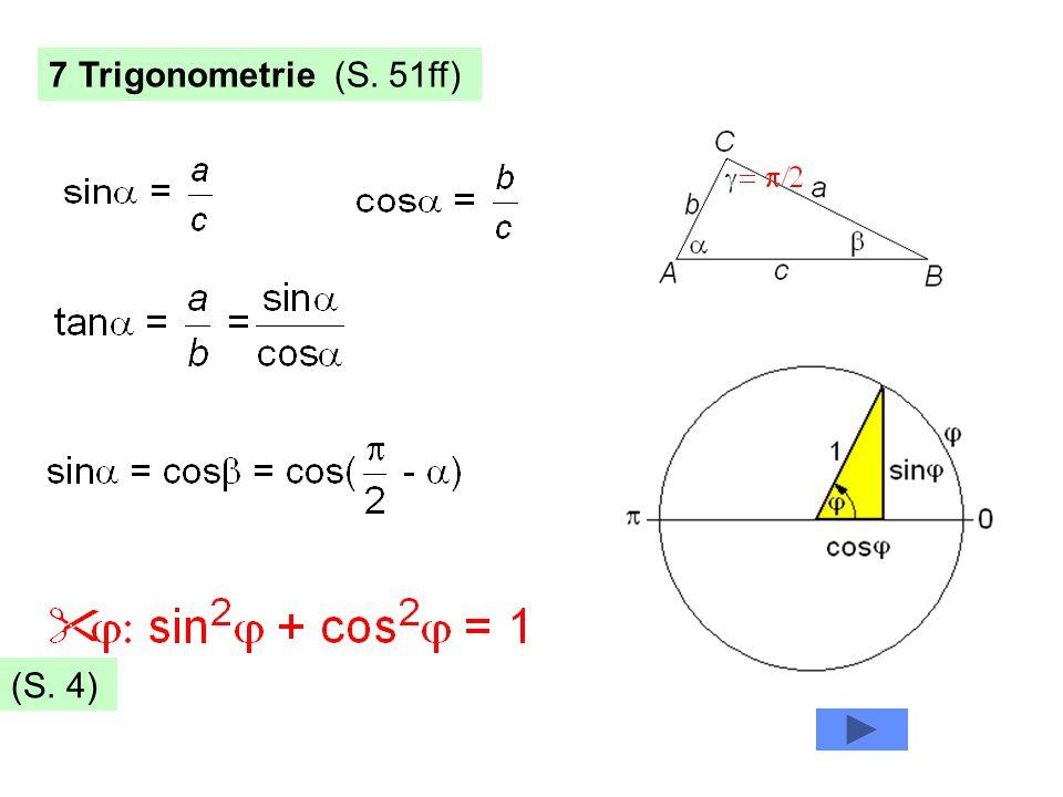 7 Trigonometrie (S. 51ff) (S. 4)