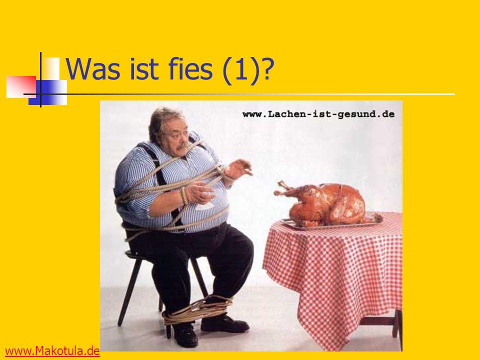www.Makotula.de Was ist fies (1)?