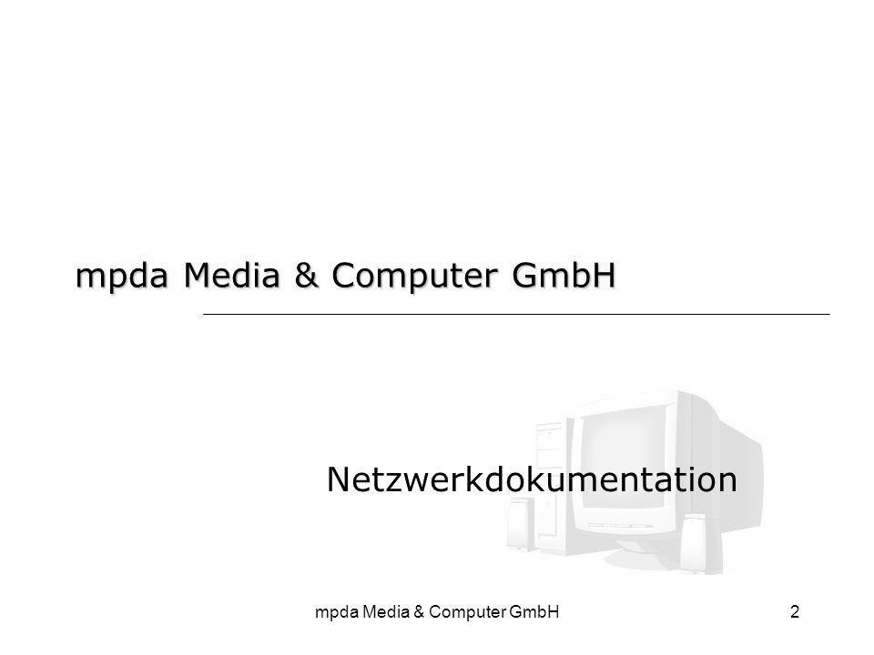 2 Netzwerkdokumentation