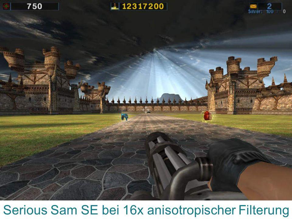 Serious Sam SE bei 16x anisotropischer Filterung