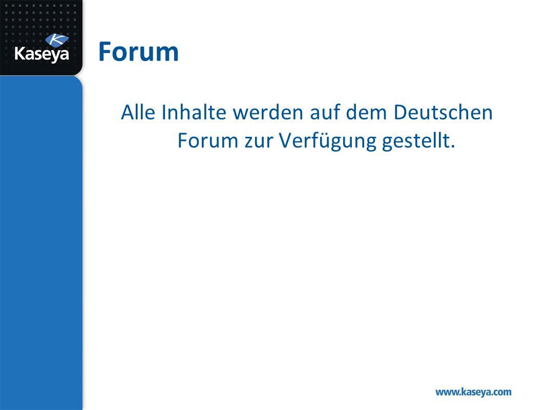 Forum Alle Inhalte werden auf dem Deutschen Forum zur Verfügung gestellt.