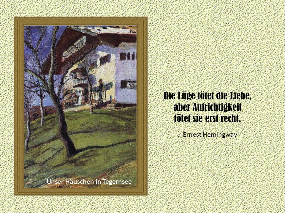 Unser Häuschen in Tegernsee.