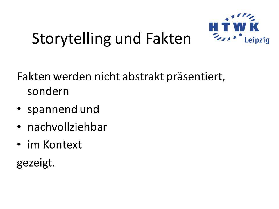 Storytelling veranschaulicht Für die Leser anschaulich werden Konflikte, Besonderheiten Grundthema.
