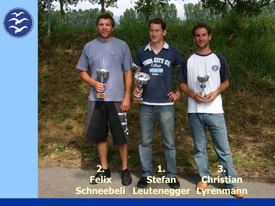 1. Stefan Leutenegger 2. Felix Schneebeli 3. Christian Lyrenmann