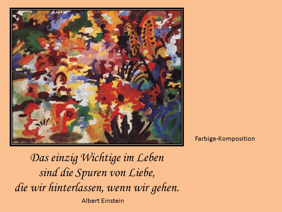 Die Frau des Malers lesend Läuft es einmal nicht so, wie du es erwartet hast, dann denk daran, dass bereits morgen heute gestern ist. Harald Heinrich