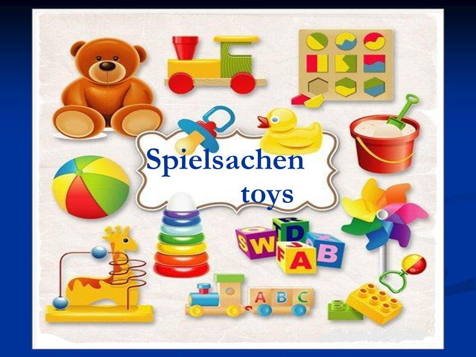Spielsachen toys