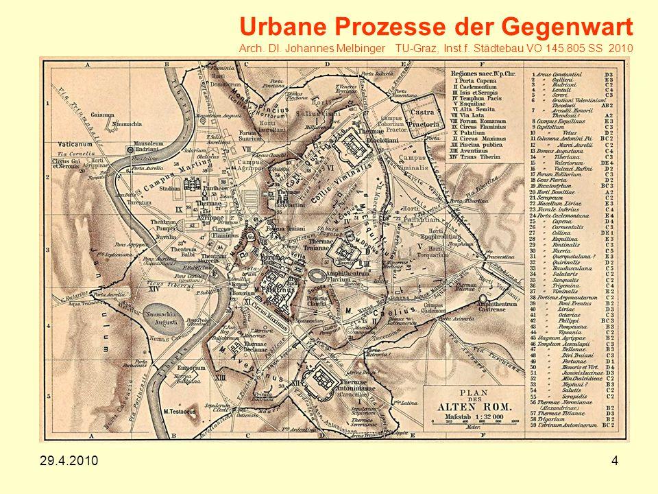29.4.20104 Urbane Prozesse der Gegenwart Arch.DI.