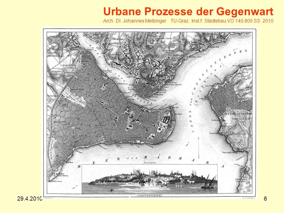 29.4.20106 Urbane Prozesse der Gegenwart Arch.DI.