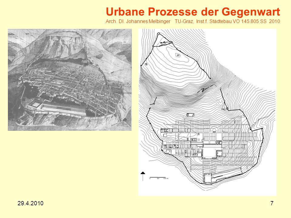 29.4.20107 Urbane Prozesse der Gegenwart Arch.DI.