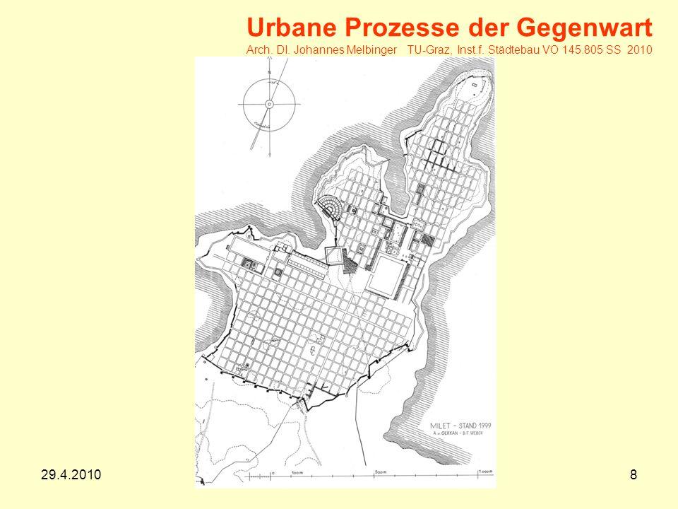 29.4.20109 Urbane Prozesse der Gegenwart Arch.DI.