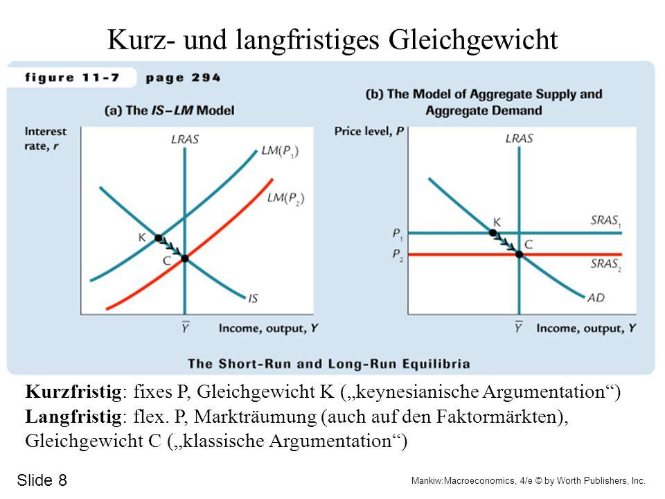 Slide 7 Mankiw:Macroeconomics, 4/e © by Worth Publishers, Inc.