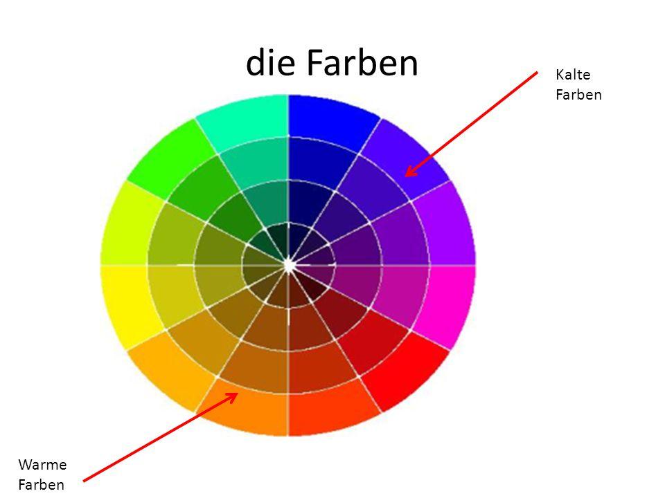die Farben Kalte Farben Warme Farben