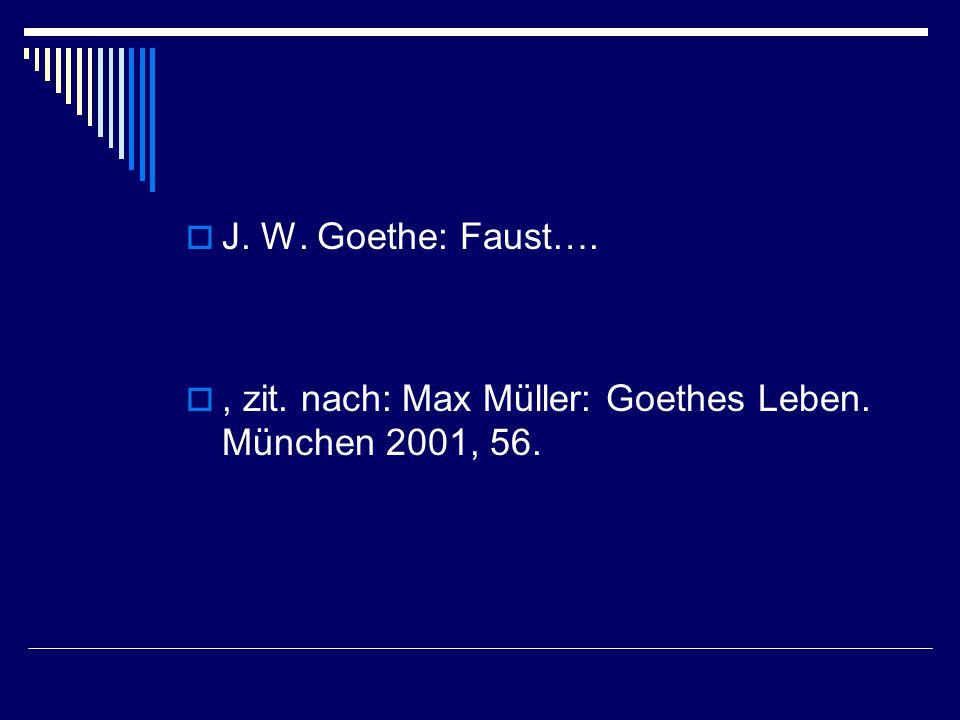 Goethe lesen II  Ein Gleiches Siehe extra PPP