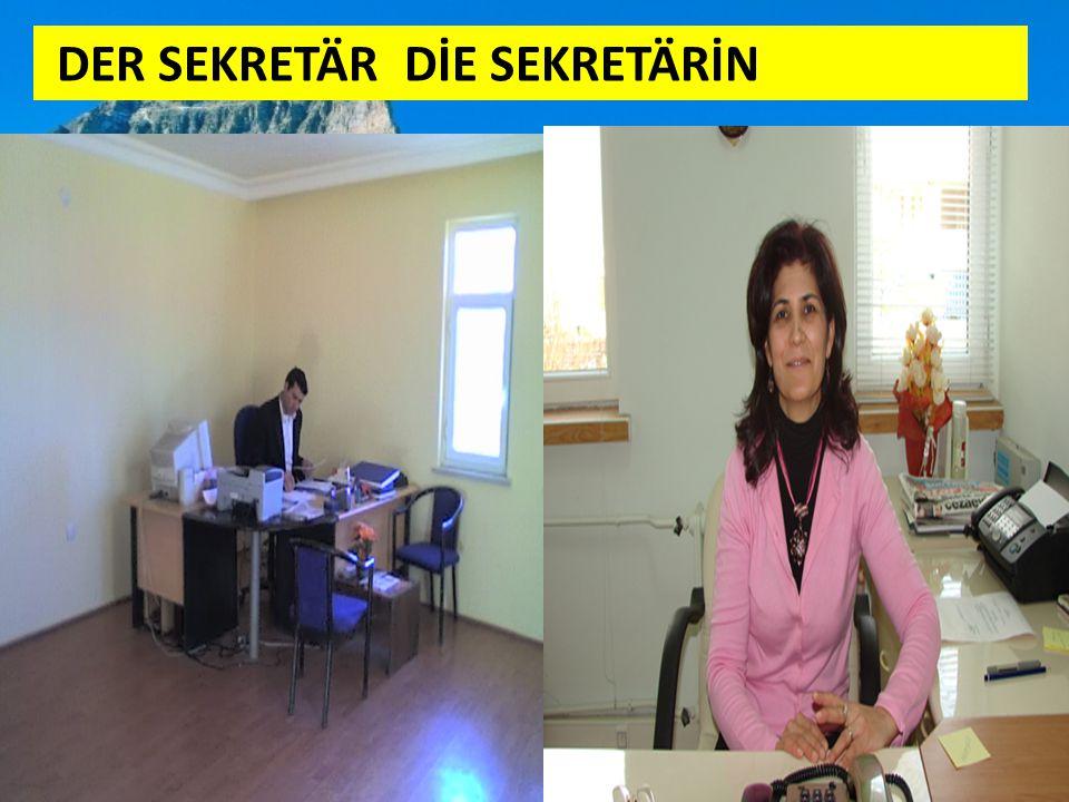 DER SEKRETÄR DİE SEKRETÄRİN