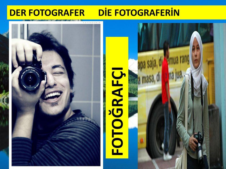 DER FOTOGRAFER DİE FOTOGRAFERİN FOTOĞRAFÇI