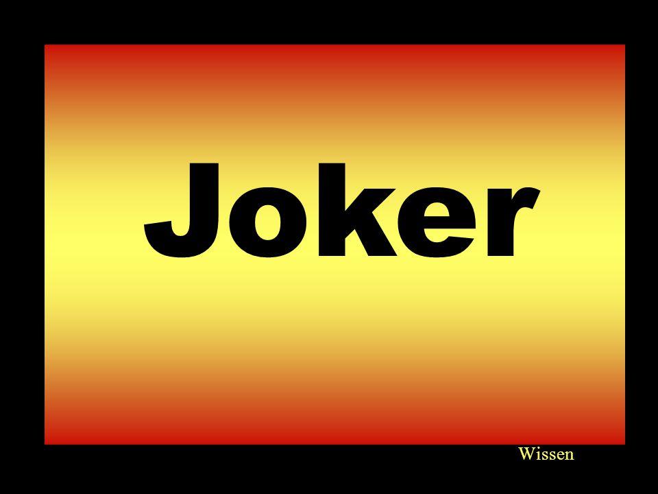 Wissen 6060 Joker