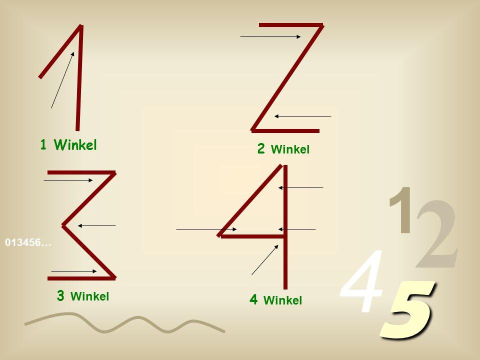 013456… 1 2 4 5 1 Winkel 2 W inkel 3 W inkel 4 W inkel