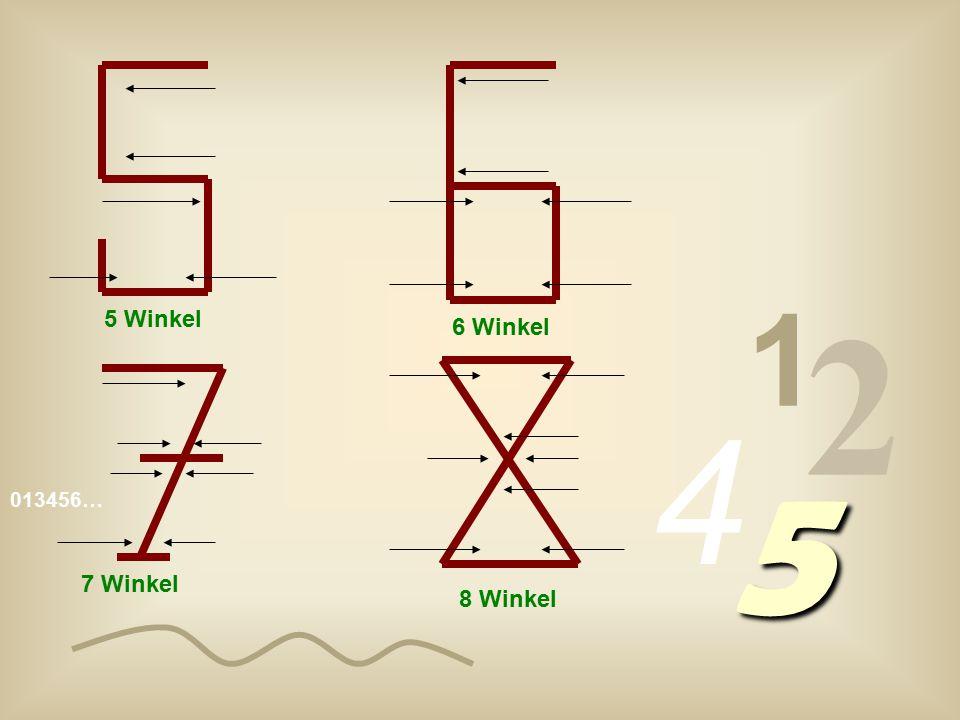 1 2 4 5 5 Winkel 6 Winkel 7 Winkel 8 Winkel