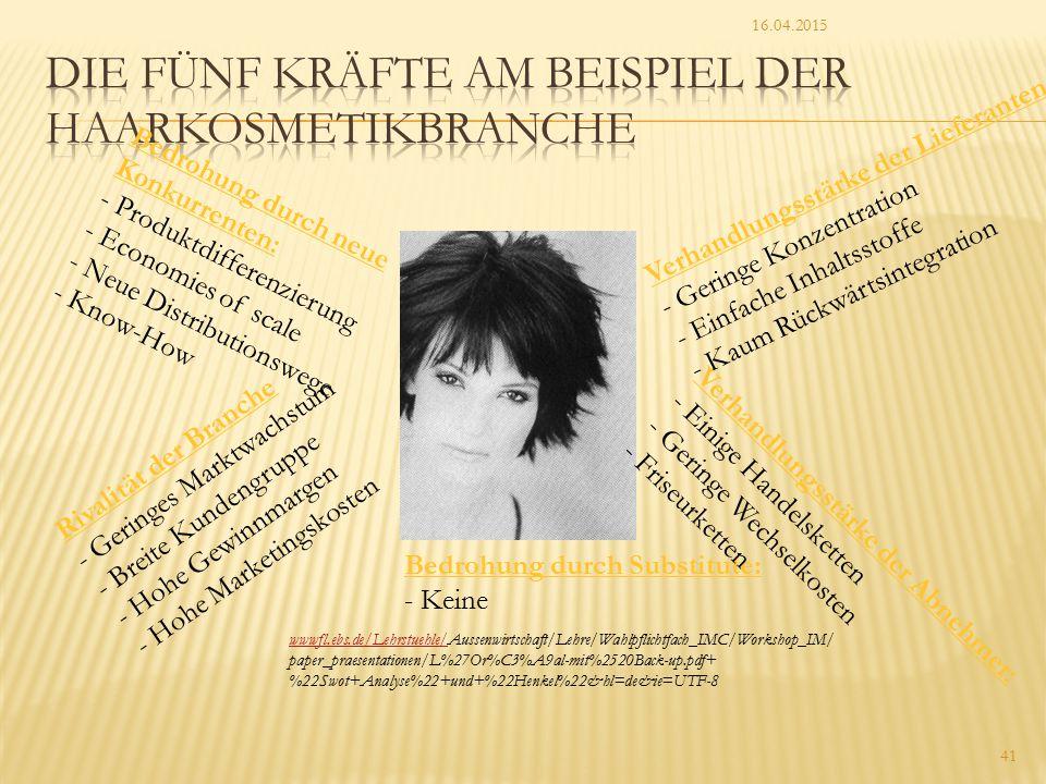 16.04.2015 41 wwwfl.ebs.de/Lehrstuehle/wwwfl.ebs.de/Lehrstuehle/Aussenwirtschaft/Lehre/Wahlpflichtfach_IMC/Workshop_IM/ paper_praesentationen/L%27Or%C