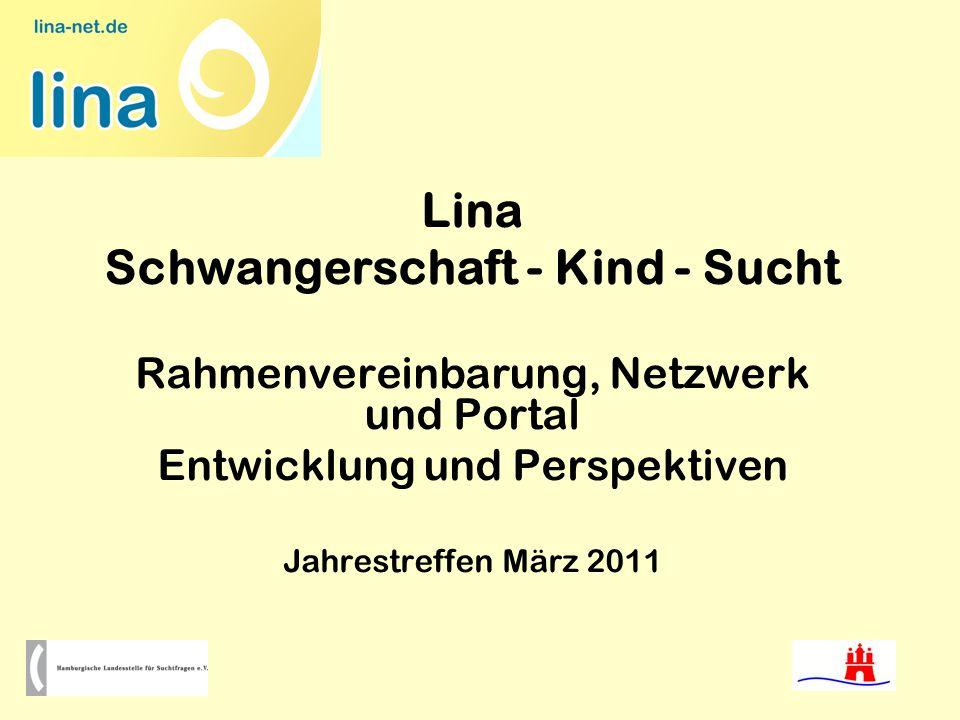 Lina Schwangerschaft - Kind - Sucht Rahmenvereinbarung, Netzwerk und Portal Entwicklung und Perspektiven Jahrestreffen März 2011