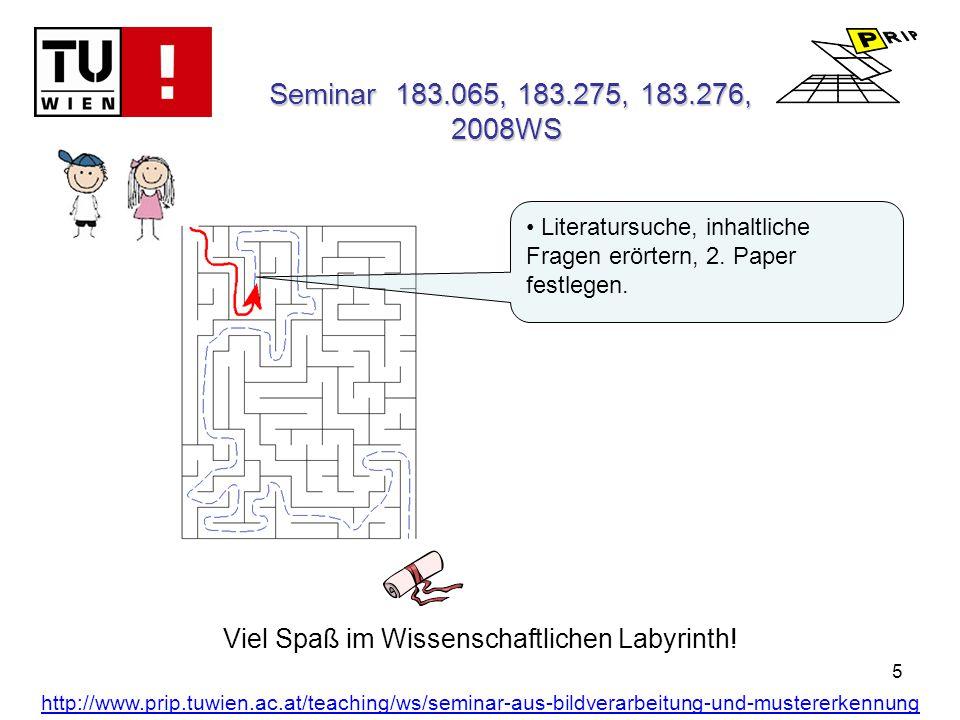 5 Viel Spaß im Wissenschaftlichen Labyrinth.