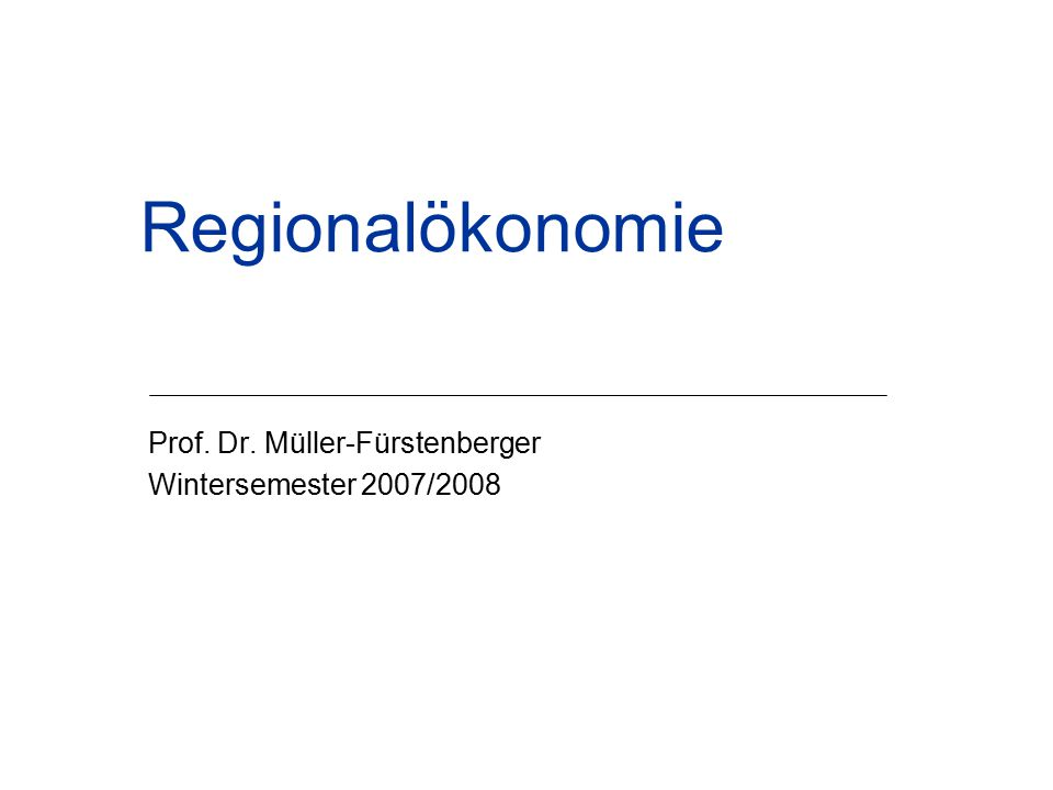 RegionalökonomieVWL2 1.