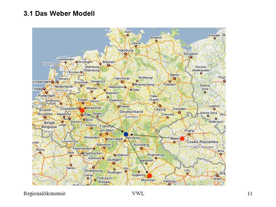 RegionalökonomieVWL11 3.1 Das Weber Modell