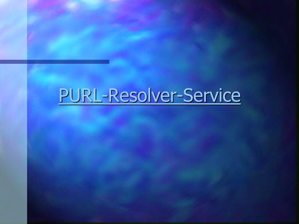 PURL-Resolver-Service
