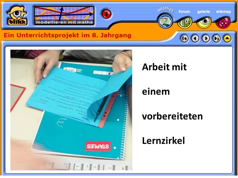Formatvorlage des Untertitelmasters durch Klicken bearbeiten 30.05.11 Arbeit mit einem vorbereiteten Lernzirkel
