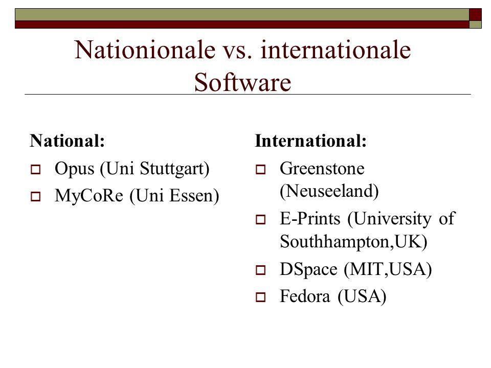 Nationionale vs.