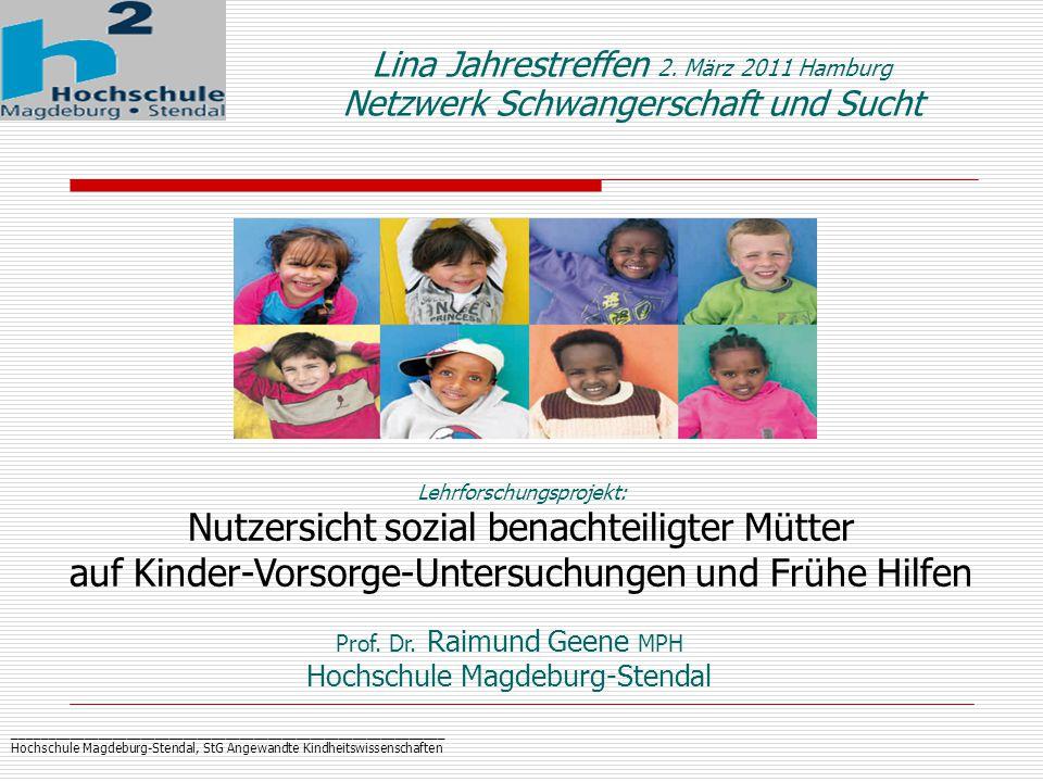 _____________________________________________________________ Hochschule Magdeburg-Stendal, StG Angewandte Kindheitswissenschaften Prof.