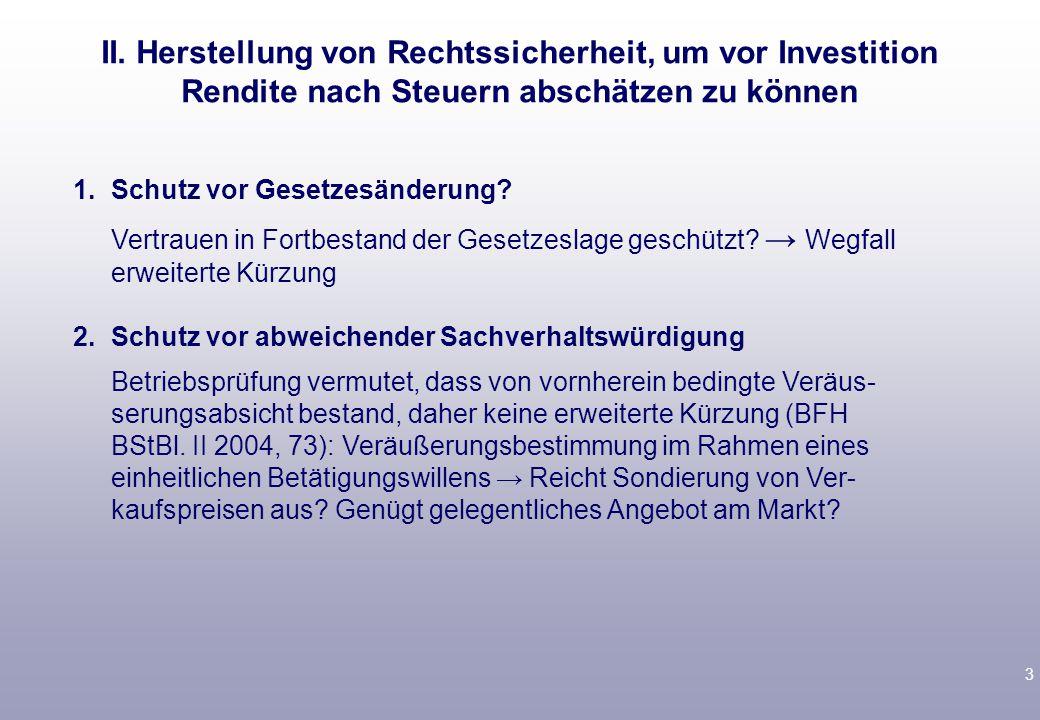 14 3.A kauft über GmbH & Co.