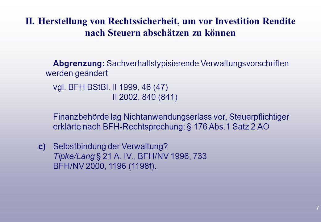 18 Variante 2: Steuerergebnis GmbH 70 T€./.