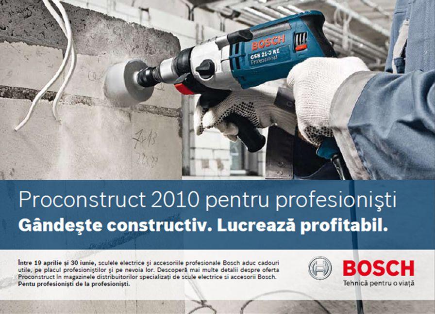 Ofertă ProConstruct: 19.04 – 30.06.2010 1 RTI | 02.04.09 | © Alle Rechte bei Robert Bosch AG, auch für den Fall von Schutzrechtsanmeldungen.