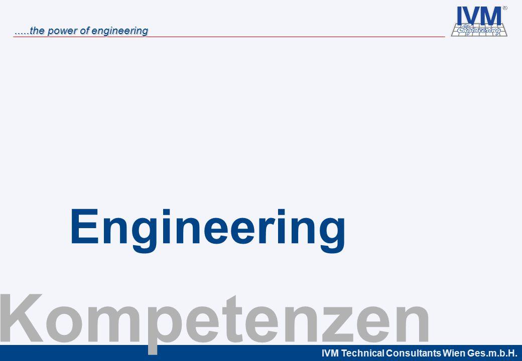 IVM Technical Consultants Wien Ges.m.b.H......the power of engineering Maßnahmen Entwicklung Anforderungen