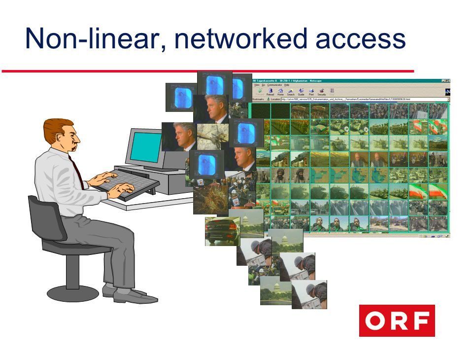 Non-linear, networked access