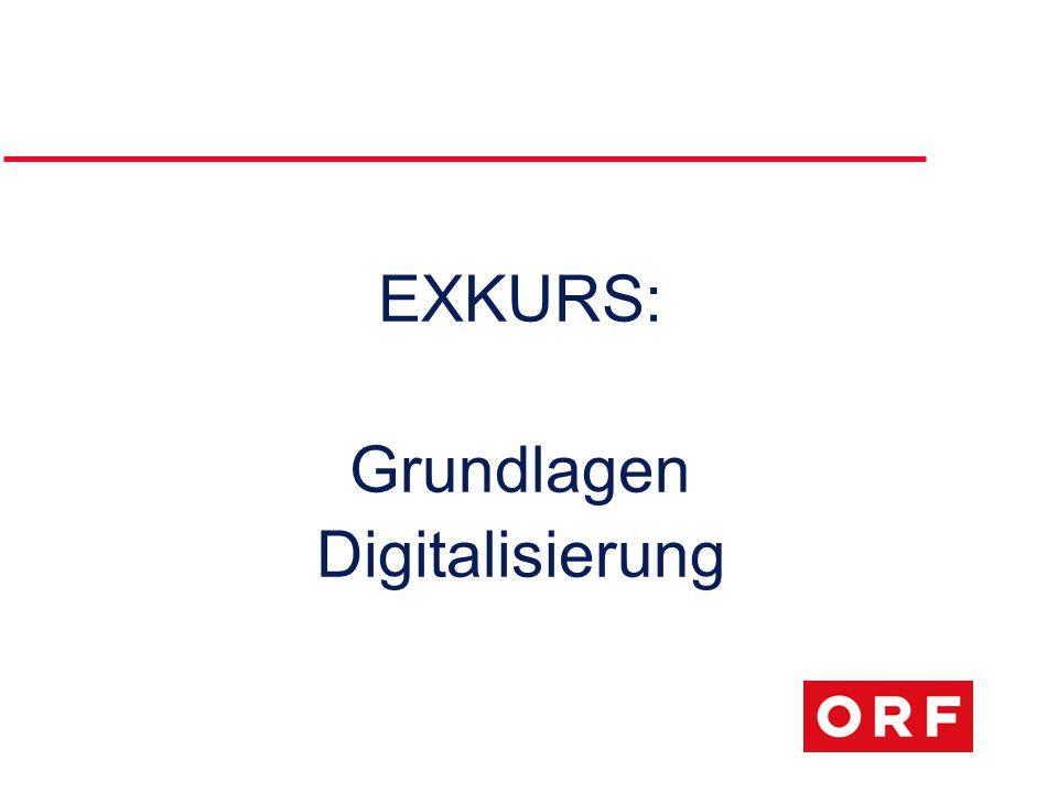 EXKURS: Grundlagen Digitalisierung