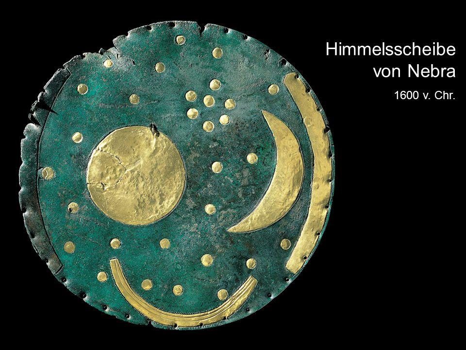 Himmelsscheibe von Nebra 1600 v. Chr.