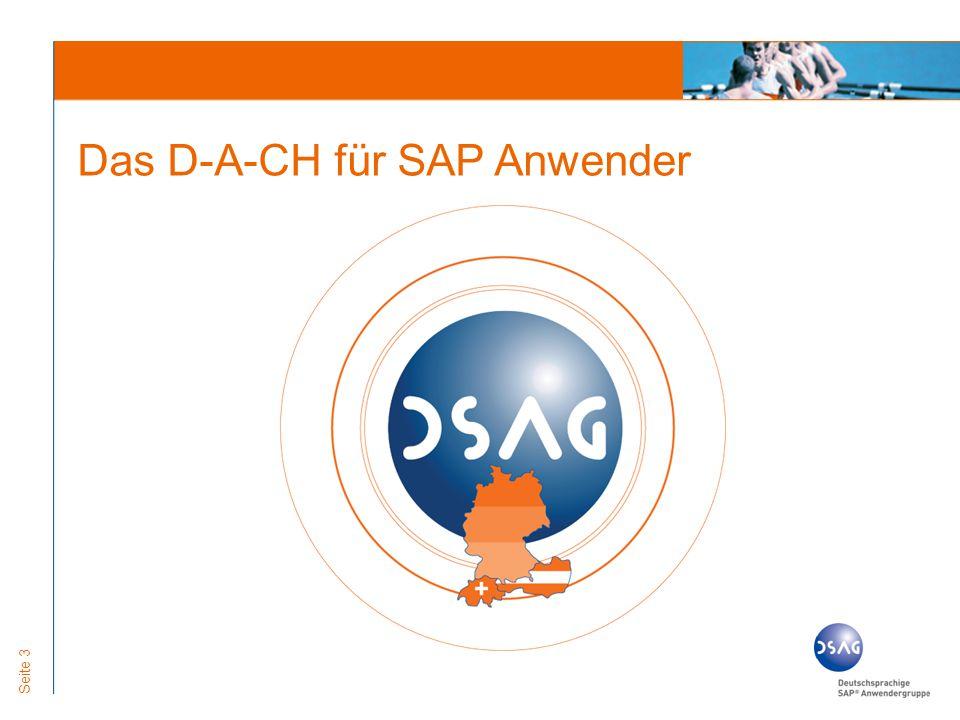Seite 3 Das D-A-CH für SAP Anwender