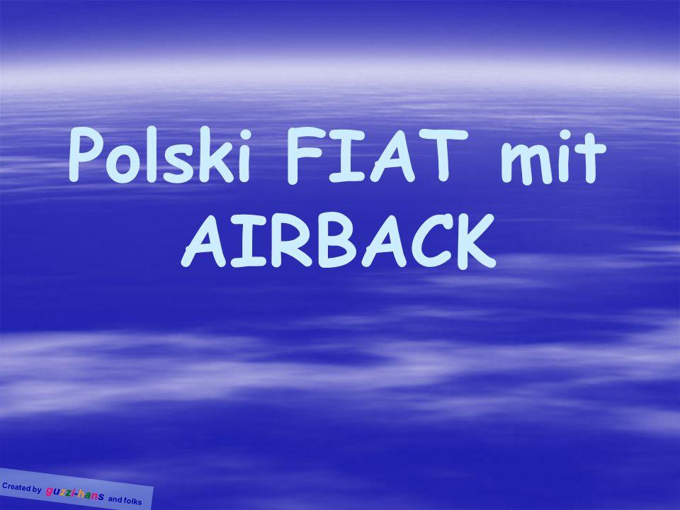 Polski FIAT mit AIRBACK