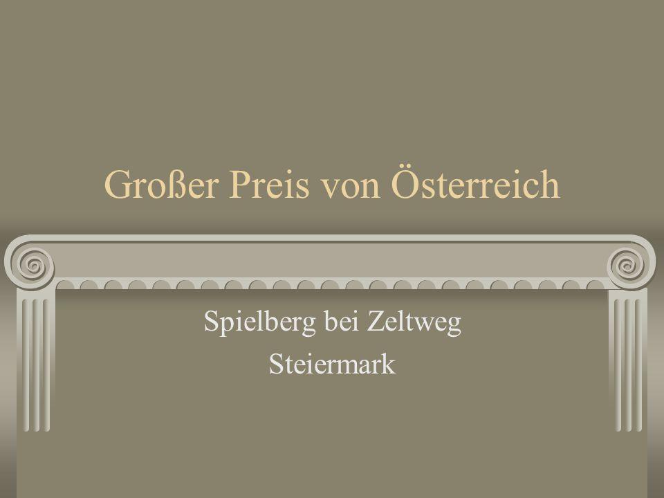 Großer Preis von Österreich Spielberg bei Zeltweg Steiermark