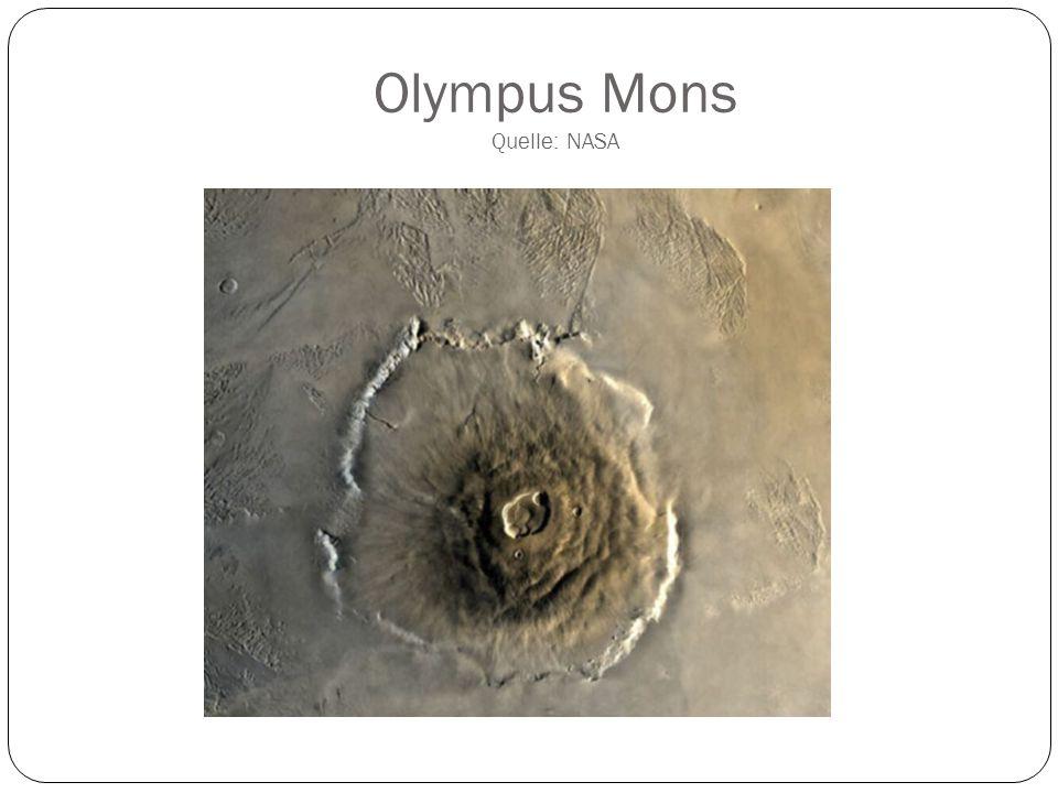 Ceraunius Tholus Quelle: NASA
