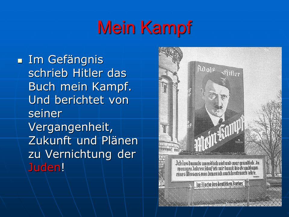 Hitler wird zum Reistagspräsidenten GEWÄHLT 27.
