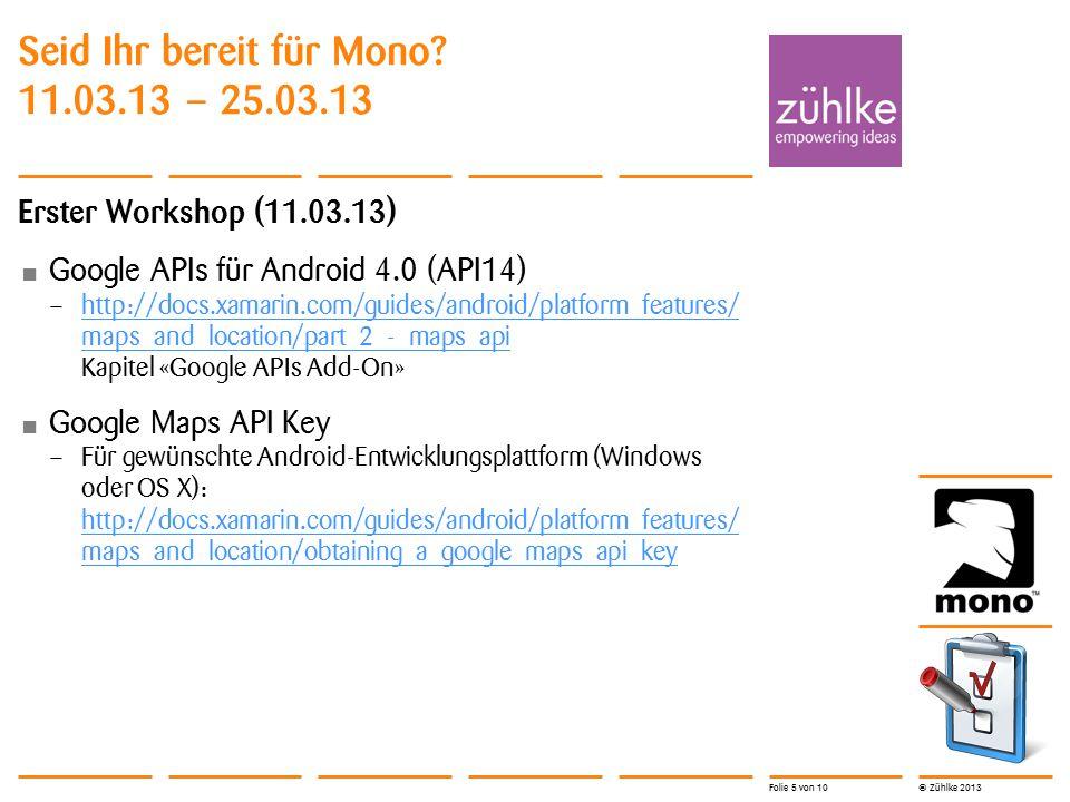 © Zühlke 2013 Navigation Frame – Toplevel – System Tray – ApplicationBar – Beinhaltet eine Page Page – Hat einen Titel und Content Area 25.