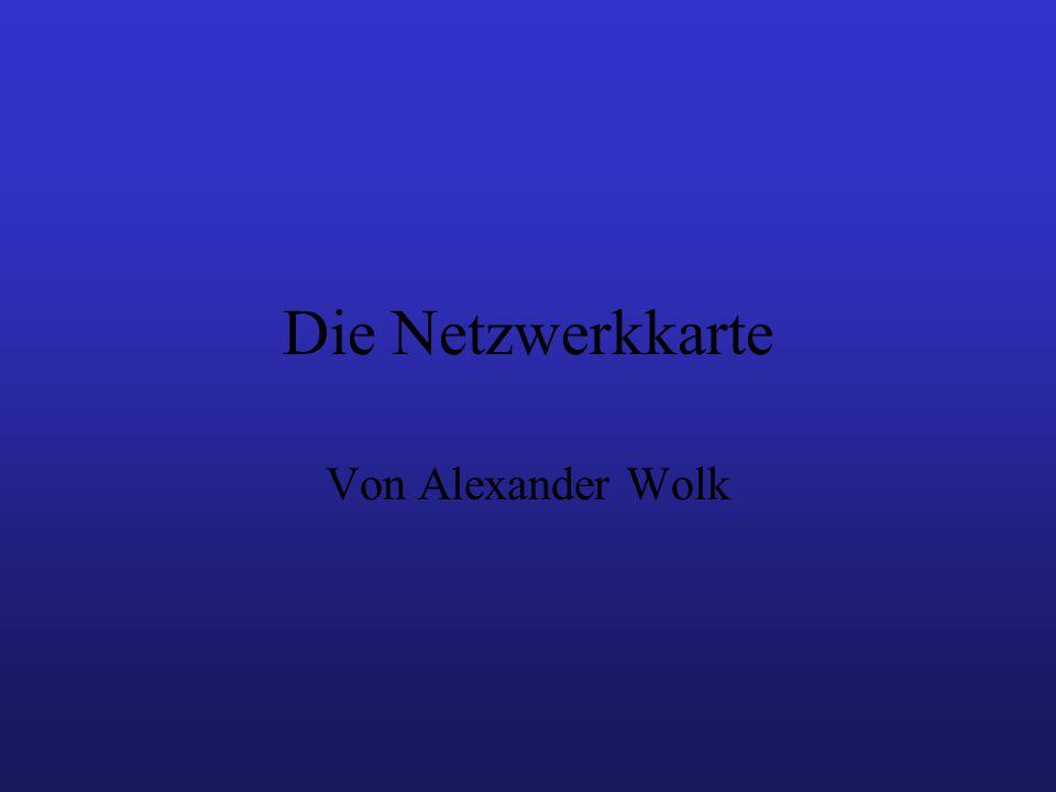 Die Netzwerkkarte Von Alexander Wolk