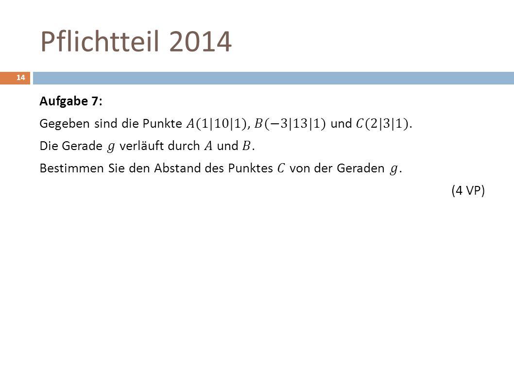 Pflichtteil 2014 14