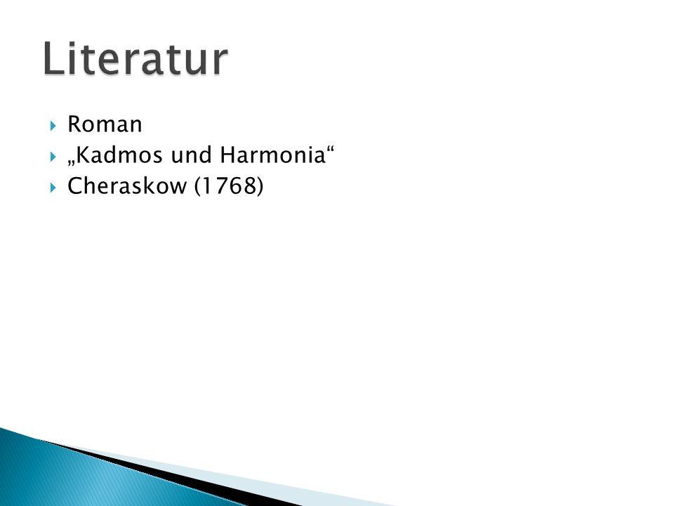 """ Roman  """"Kadmos und Harmonia  Cheraskow (1768)"""
