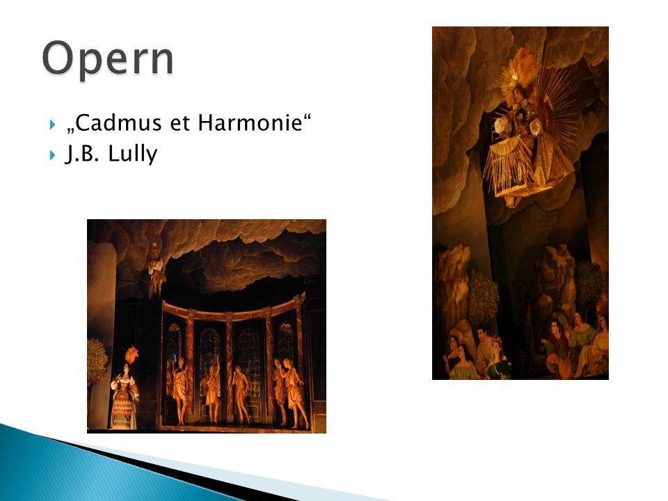 " ""Cadmus et Harmonie  J.B. Lully"